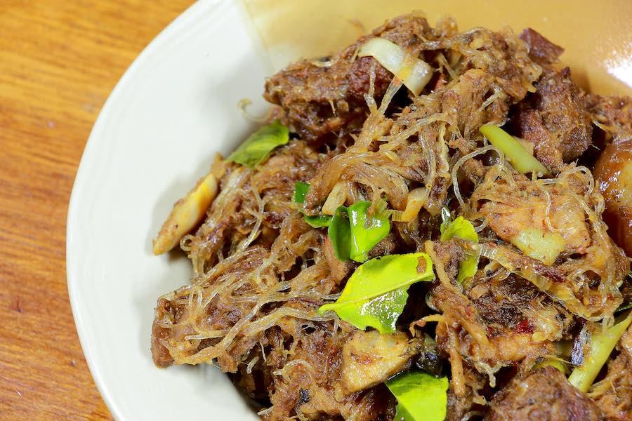 タイ料理:ゲーンホ(แกงโฮะ)