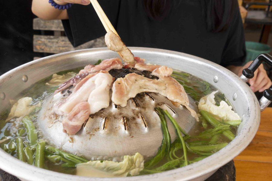 タイ料理:ムーガタ(หมูกะทะ)