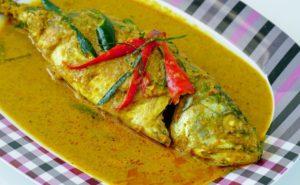 タイ料理:チューチープラー(ฉู่ฉี่ปลา)