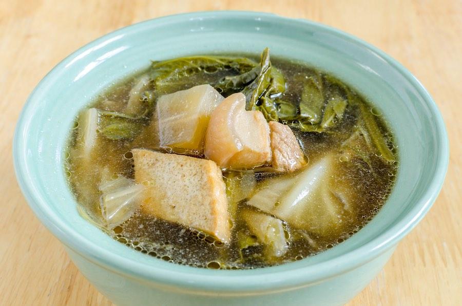 タイ料理:トムチャプチャイ(ต้มจับฉ่าย)