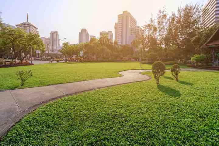 タイ 公園