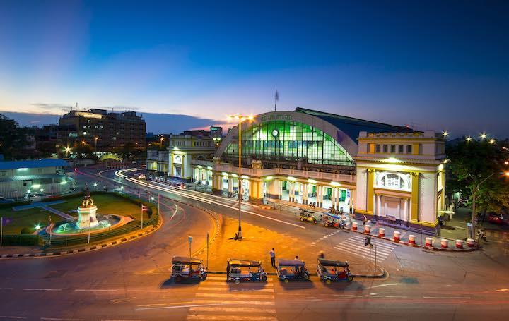 バンコク 鉄道 駅