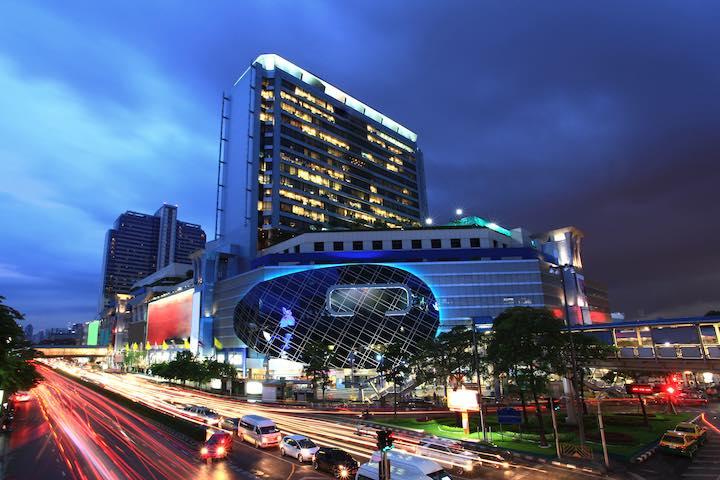 バンコク ショッピングセンター