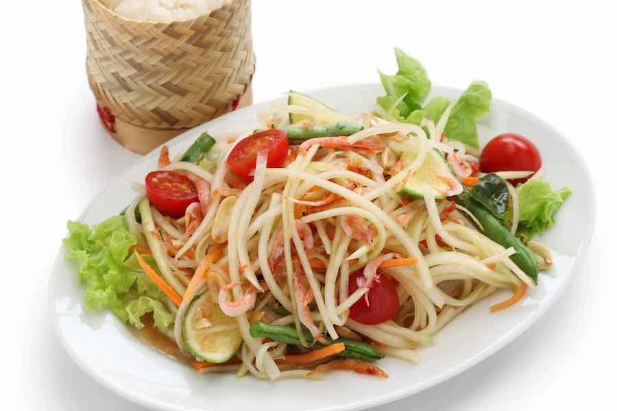 タイ料理:ソムタム(ส้มตำ)