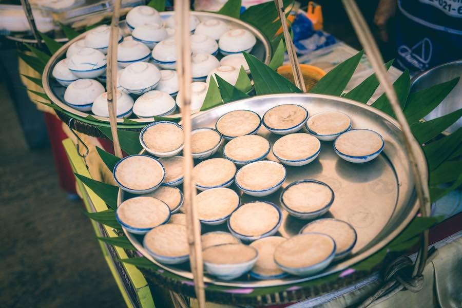 タイのデザート:カノムトゥアイ(ขนมถ้วย )