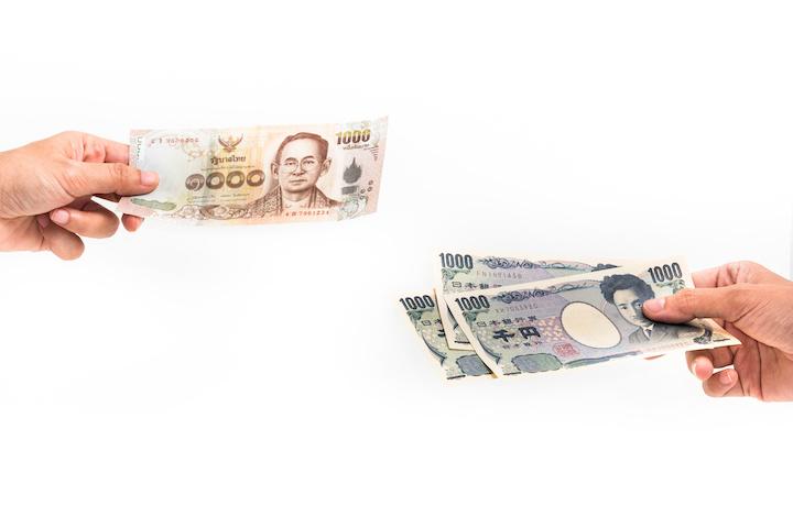日本円 タイバーツ