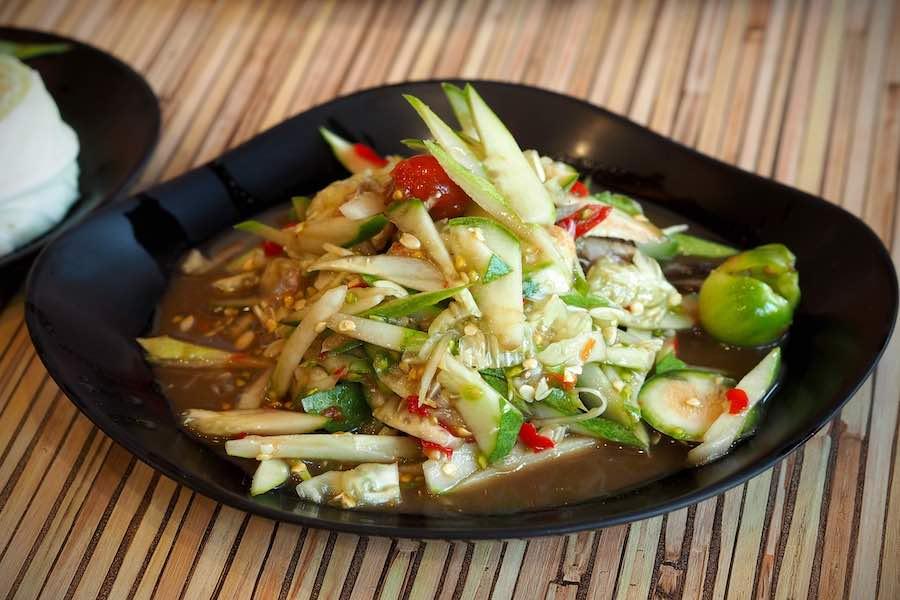 タイ料理:タムテン(ตำแตง)