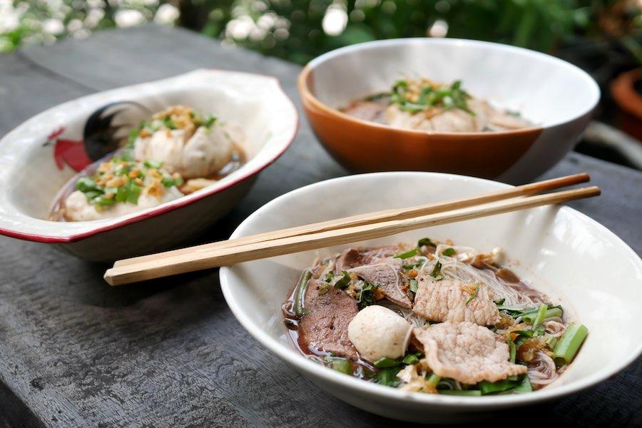 タイ料理:クイッティアオルア(ก๋วยเตี๋ยวเรือ)
