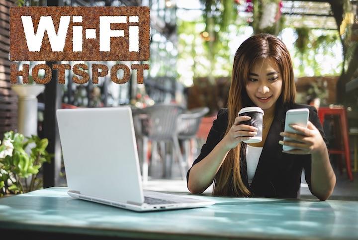 タイ カフェ wi-fi