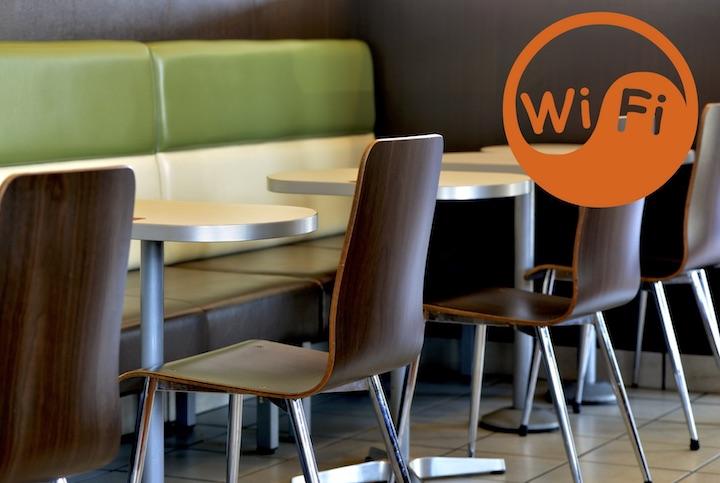 レストラン wi-fi