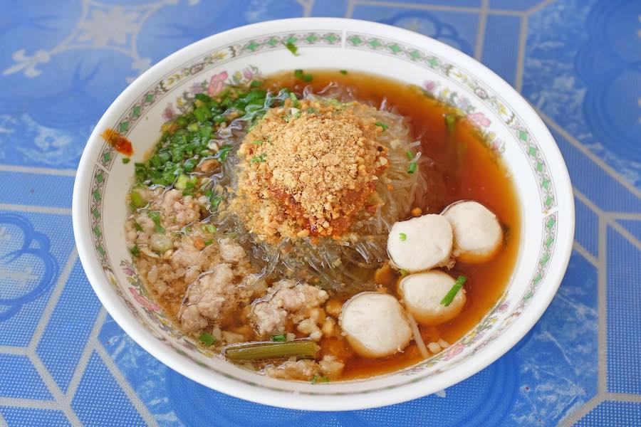 タイ料理:ゲーンセン(แกงเส้น)