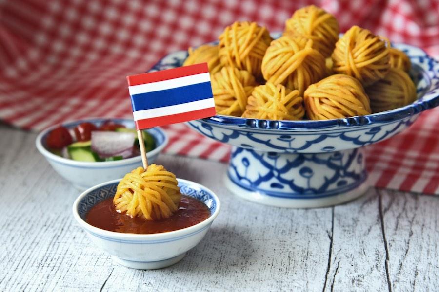 タイ料理:ムーサロン(หมูโสร่ง)
