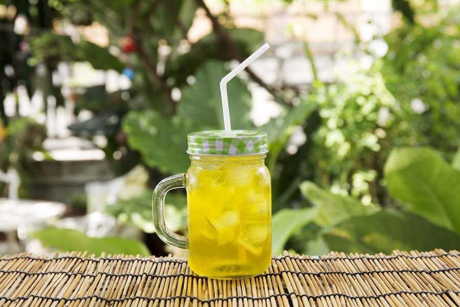 タイの飲み物:ナムゲックフアイ (น้ำเก๊กฮวย)