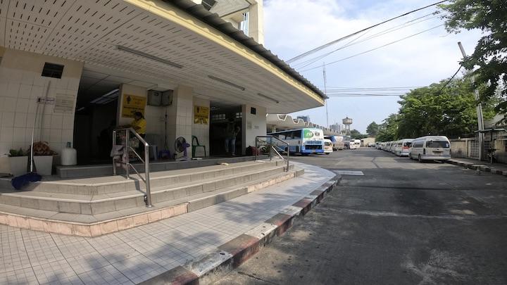 エカマイ バスターミナル トイレ