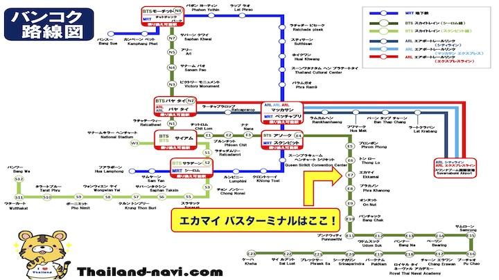 エカマイ バスターミナル 最寄駅