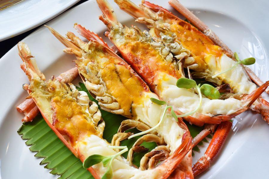 タイ料理:クンパオ(กุ้งเผา)