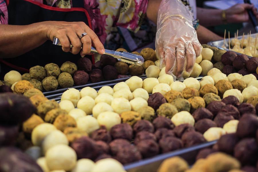 タイのお菓子:マンピン(มันปิ้ง)