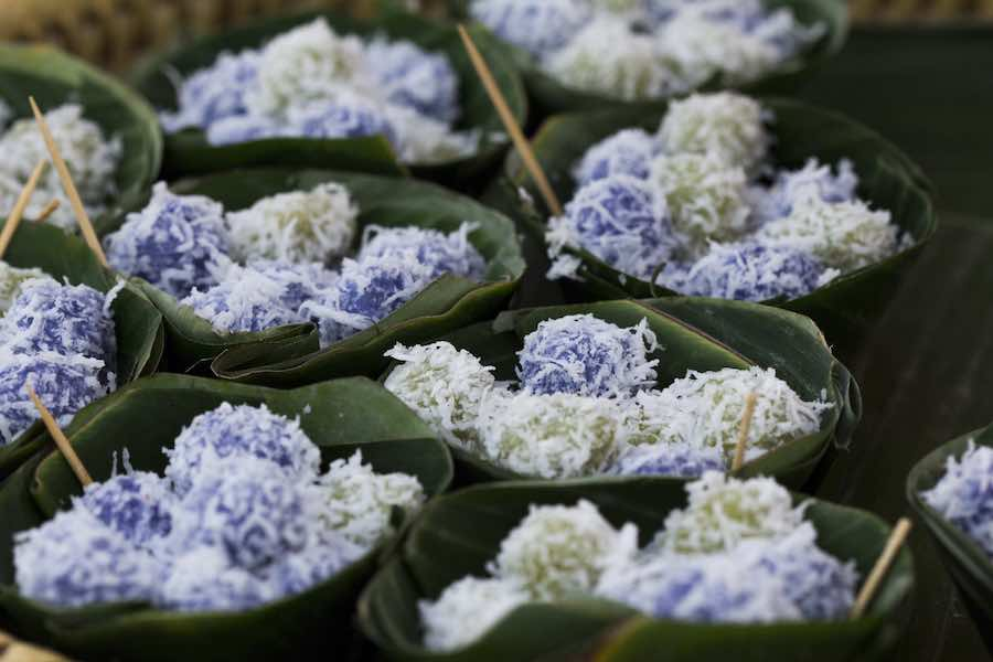 タイのお菓子:カノムコー(ขนมโค)