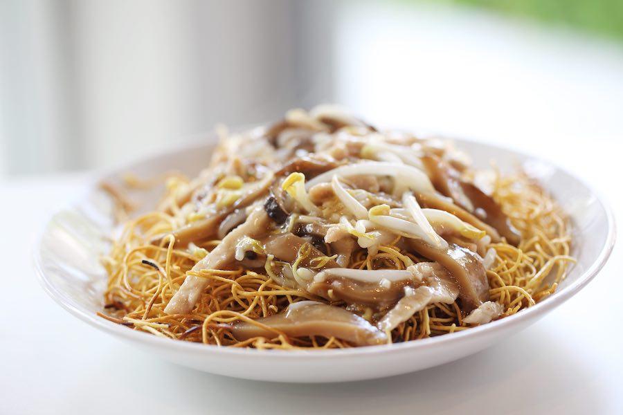 タイ料理:ゴイシーミー(โกยซีหมี่ )