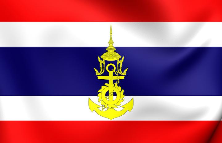 タイ 海軍 国籍旗