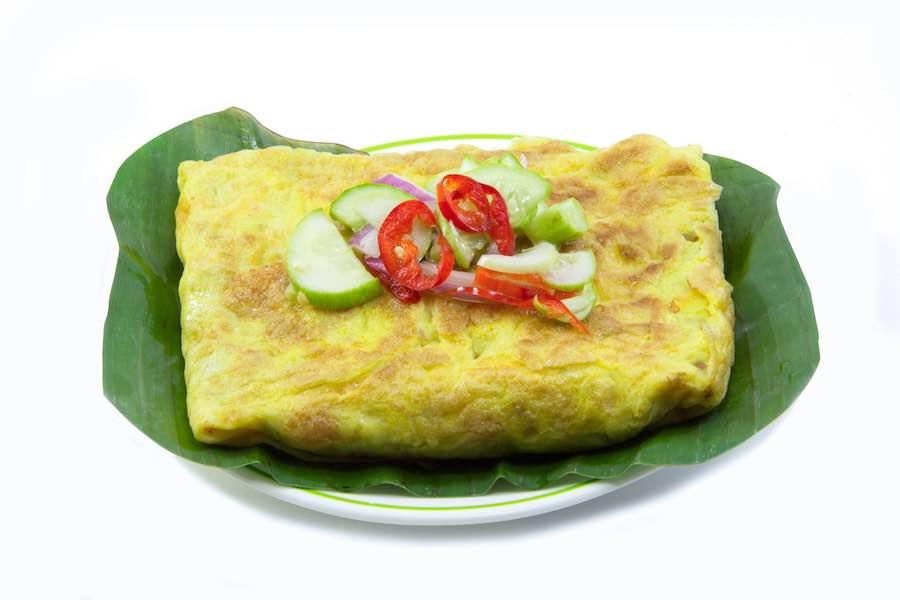 タイのお菓子:カノムブアンユアン(ขนมเบื้องญวน)