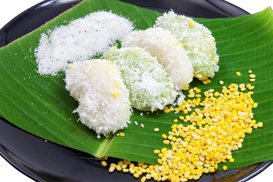 タイのお菓子:カノムトゥアベープ(ถั่วแปบ)