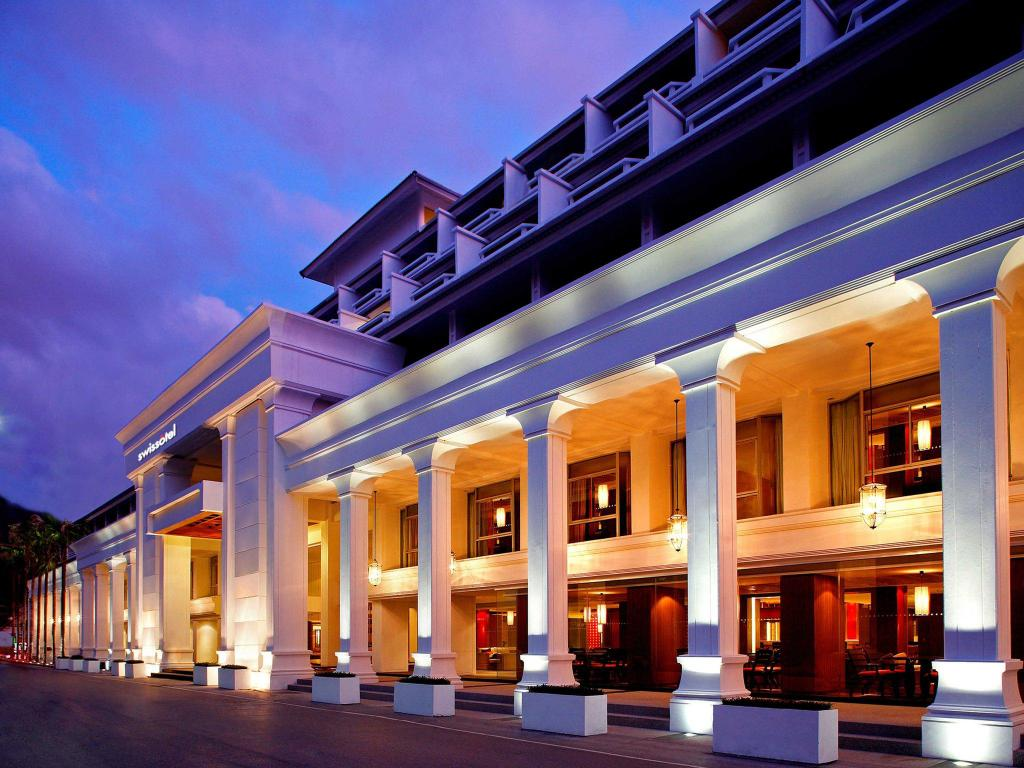 スイスホテル リゾート プーケット パトン ビーチ
