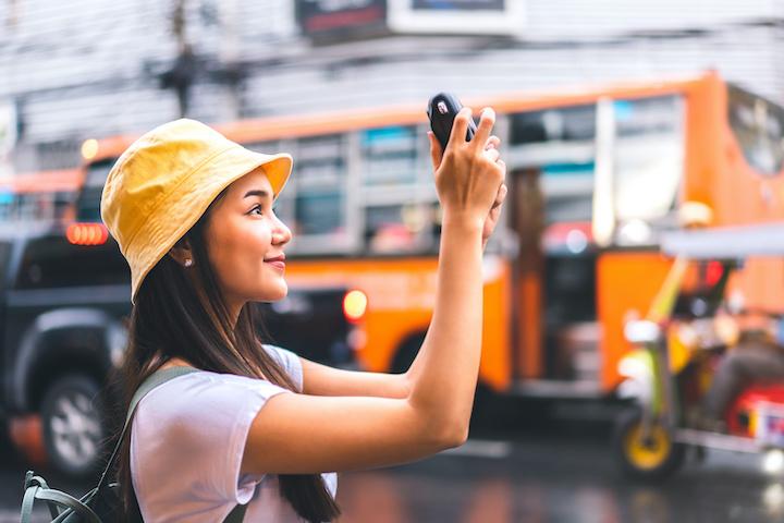 タイ 観光 女性