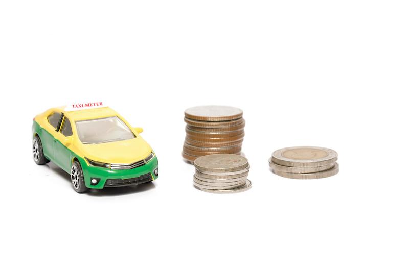 タイ タクシー お金
