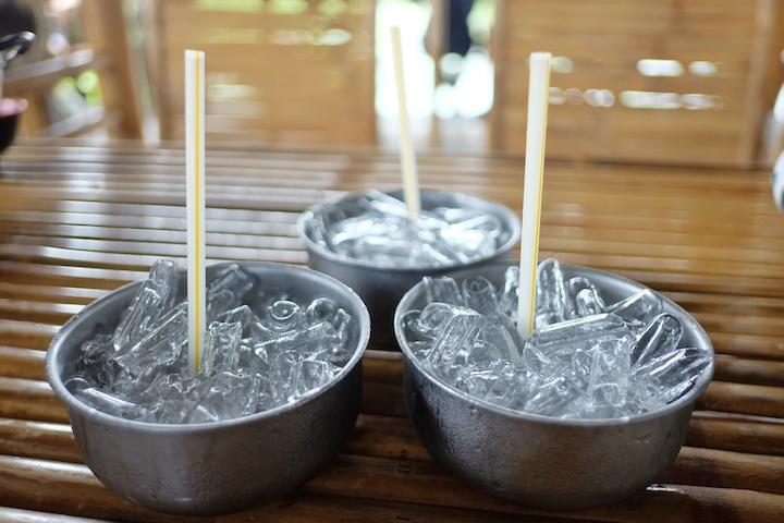 タイ レストラン 氷