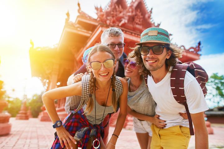 サムイ島 観光客