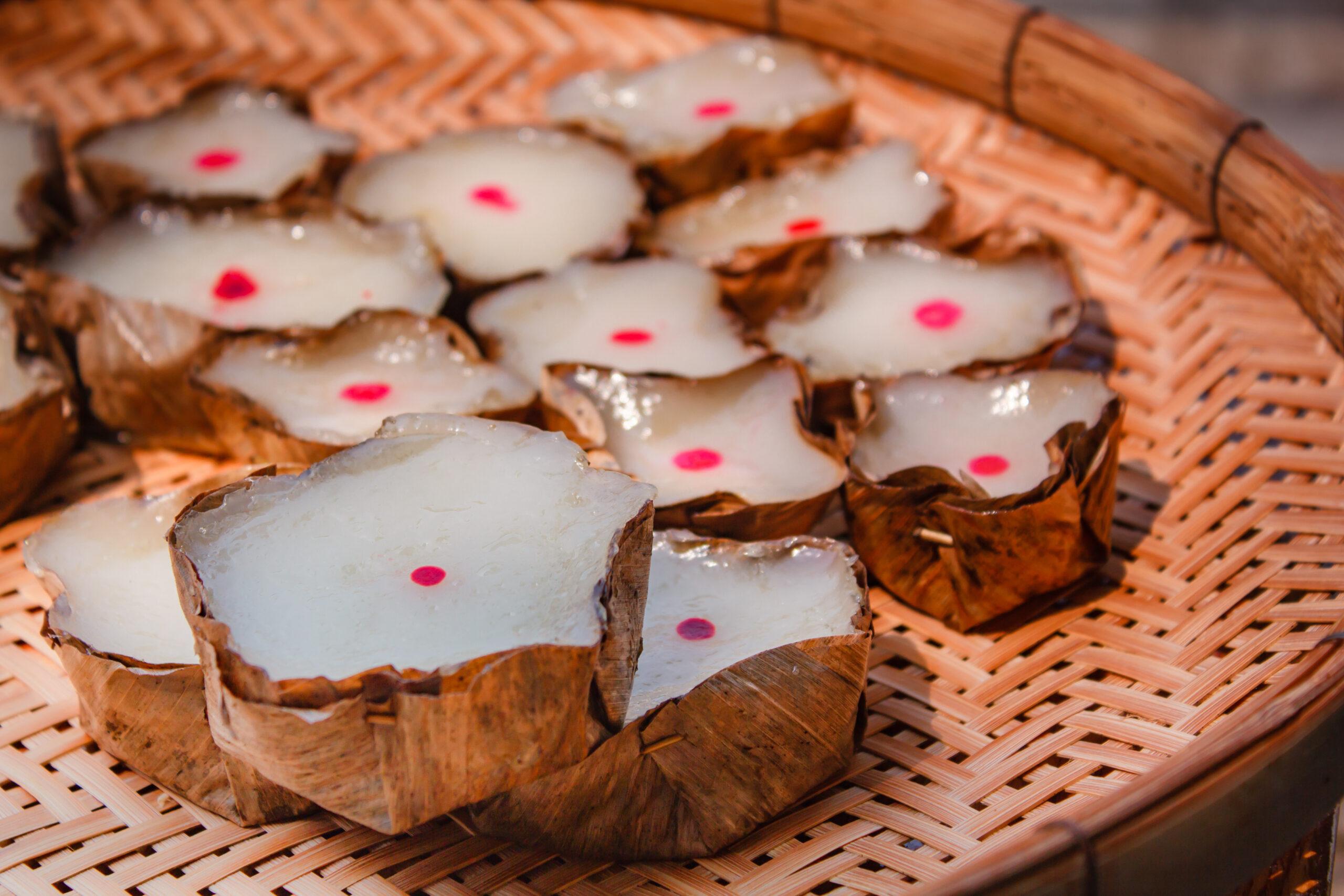 タイのお菓子:カノムケン(ขนมเข่ง)
